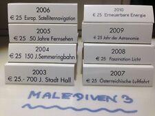 AKTION 8 x NIOB Schleifen - Umkarton von 2003 bis 2010 - NEUWERTIG  - SELTEN   !