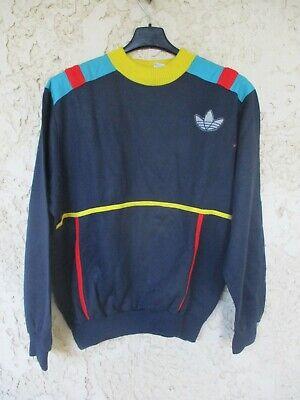 Sweat ADIDAS vintage années 80 VENTEX made in France TREFOIL jersey trikot 168 S | eBay