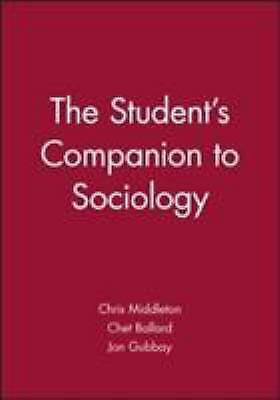 Student's Companion to Sociology by Ballard, Chet