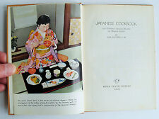 1961 JAPANESE COOKBOOK Dr Aya Kagawa Tokyo JTB Travel Bureau lovely book! illus