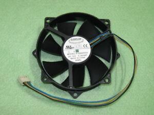 80x Lüfter Everflow F129025DU 92x92x25mm 12V DC PWM 4-Pin