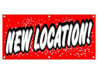 Location - Retail Store Business Sign Banner
