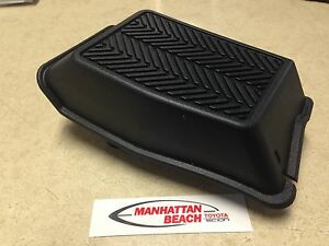2005 2015 Tacoma Drivers Foot Rest With Clips 58190 04022