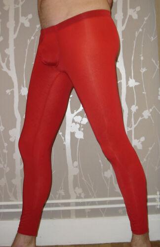Collants Caleçon long Rouge NEOFAN taille S  Ref P08 doux et elastanne pocket