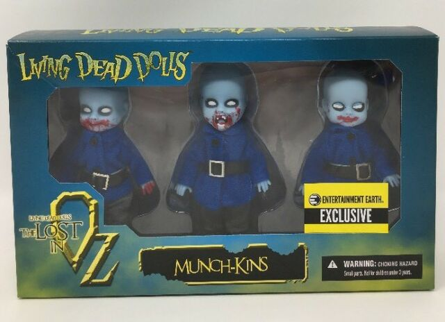 The Flying Monkeys of Oz 3-Pack Living Dead Dolls Entertainment Earth Exclusi