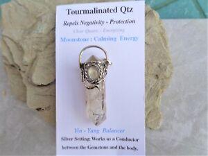 Black-Tourmaline-in-Quartz-Moonstone-Antique-Silver-Setting-Works-like-a-Shield