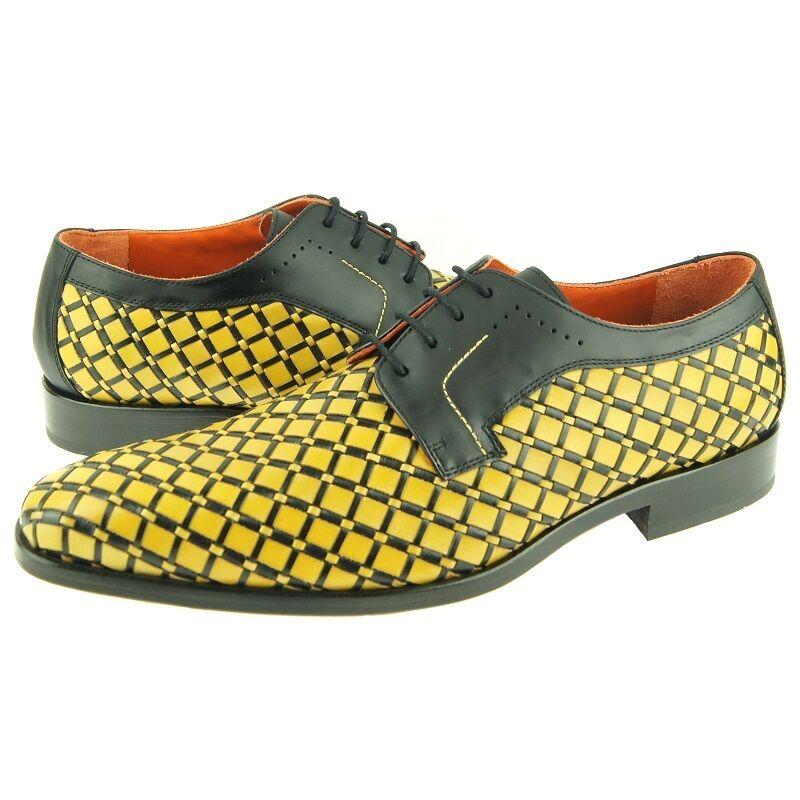 Lorens  Alek  Tejido Cuero Derby, Hombre Vestido Informal Zapatos Oxford, 9us