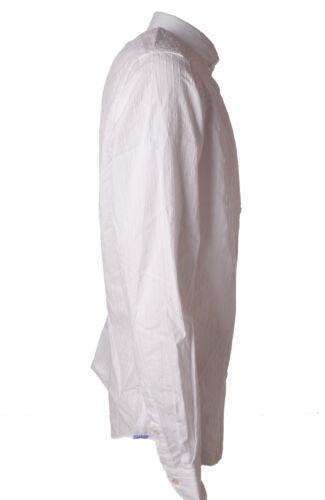 Bianco Camicie Xacus 4885406e184938 Uomo camicia wF0gHq1