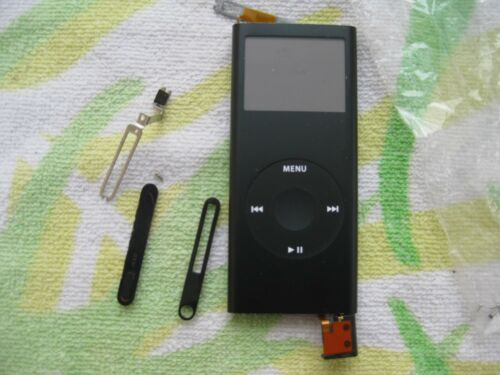 1 of 1 - APPLE IPOD NANO 2ND GENERATION BLACK 8GB MODEL A1199 PARTS OR REPAIR-Free Ship!!