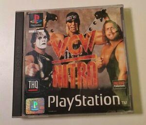 Wcw Nitro PS1 Playstation One