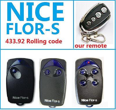 Cloning Remote Nice flor-S NICE FLO2R-S FLO4R-S NICE FLO1R-S Nice-one 433.92MHz