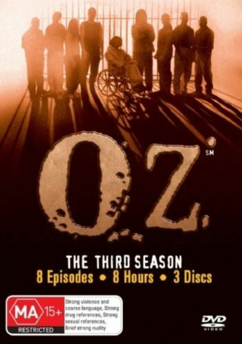 1 of 1 - Oz : Season 3 (DVD, 2007, 3-Disc Set) Brand New And Sealed!!