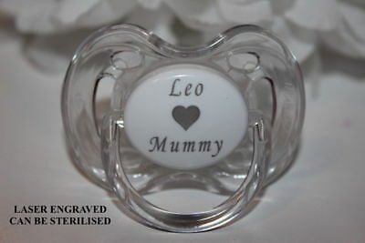PERSONALISED SOOTHER AVENT X2 *CHARACTERS*  6-18 MONTHS *CAN BE STERILISED*