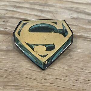 RARE-Vintage-Authentic-1978-Superman-Lapel-Pin-DC-Comics-Printed-In-USA