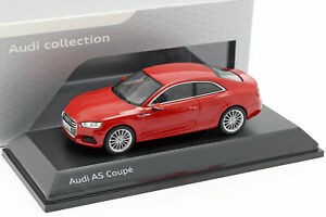 Audi-A5-Coupe-Tango-Red-1-43-Spark