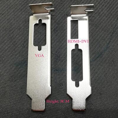 Video Card Low Profile Bracket for NVIDIA GeForce 610,710,730 Desktop Slim SH