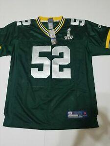 brand new 31996 6e078 Green Bay Packers Clay Matthews Reebok Authentic Jersey
