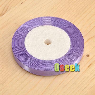 """25 Yards 3/8"""" 10mm Satin Ribbon Bow Wedding Party Xmas Gift DIY Craft Decoration"""