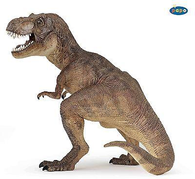 Tyrannosaurus Rex Brown 17,0 cm Dinosaurs Papo 55001
