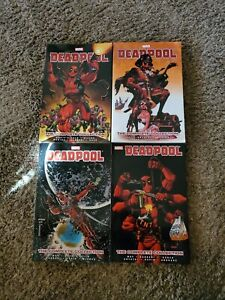 DEADPOOL-THE-COMPLETE-COLLECTION-BY-DANIEL-WAY-Vol-1-2-3-4-Marvel-TPB-Lot