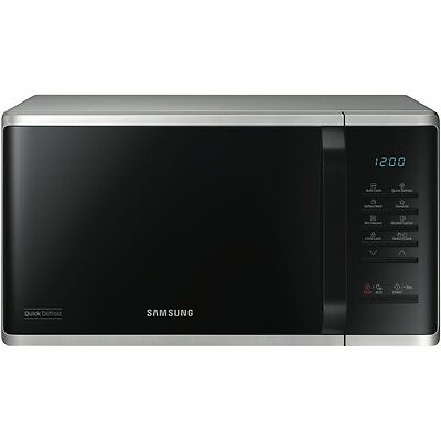 NEW Samsung MS23K3513AS 23L 800W Stainless Steel Microwave
