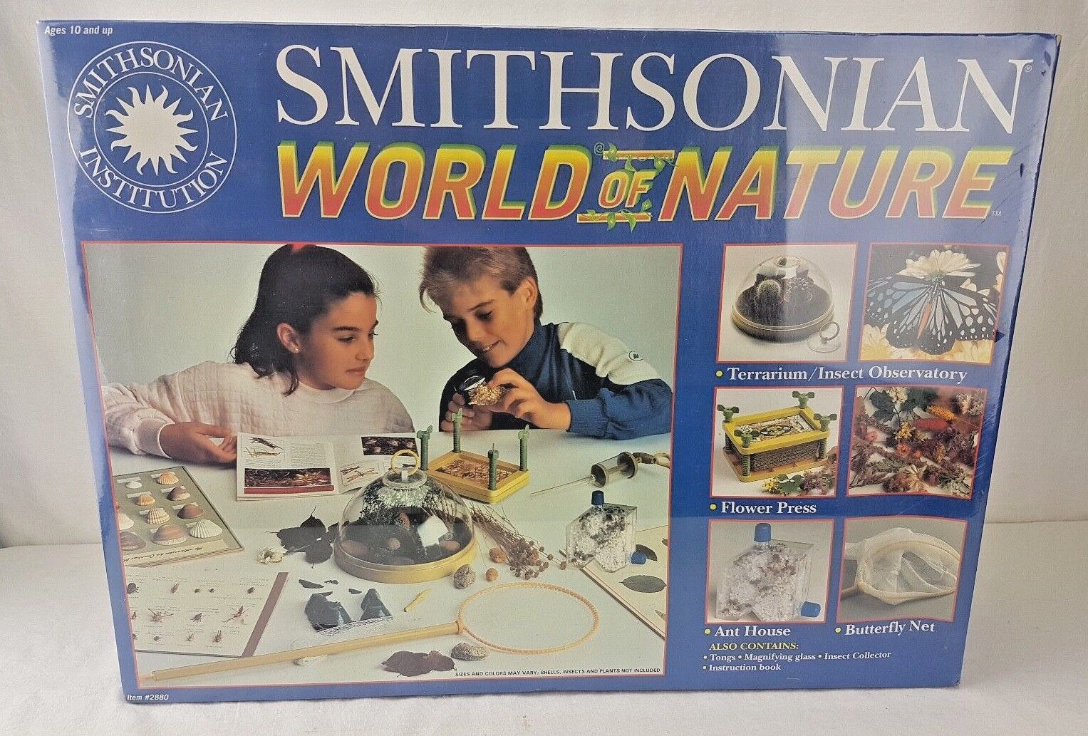 NEW Vintage Smithsonian World of Nature - NOS - 2880 Insects/Flower Press/Ant