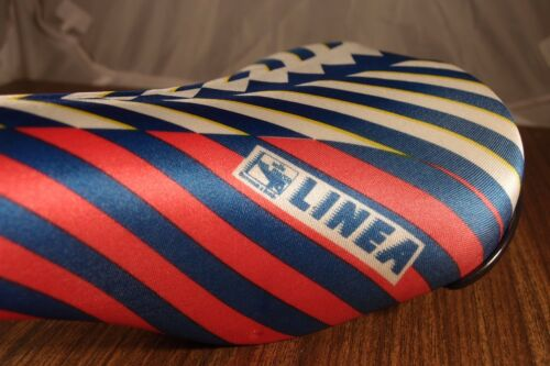 1987 NOS seat LINEA Selle San Marco from old bike store 330 grams made in Italy