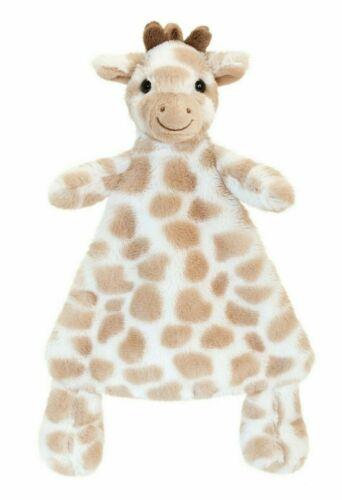Comforter New Born Baby Christening Baby Shower Gift Cream Giraffe Teddy Bear