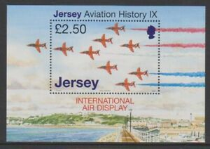 Jersey-2007-Aviation-Histoire-Rouge-Arrows-Feuille-MNH-Sg-MS1332