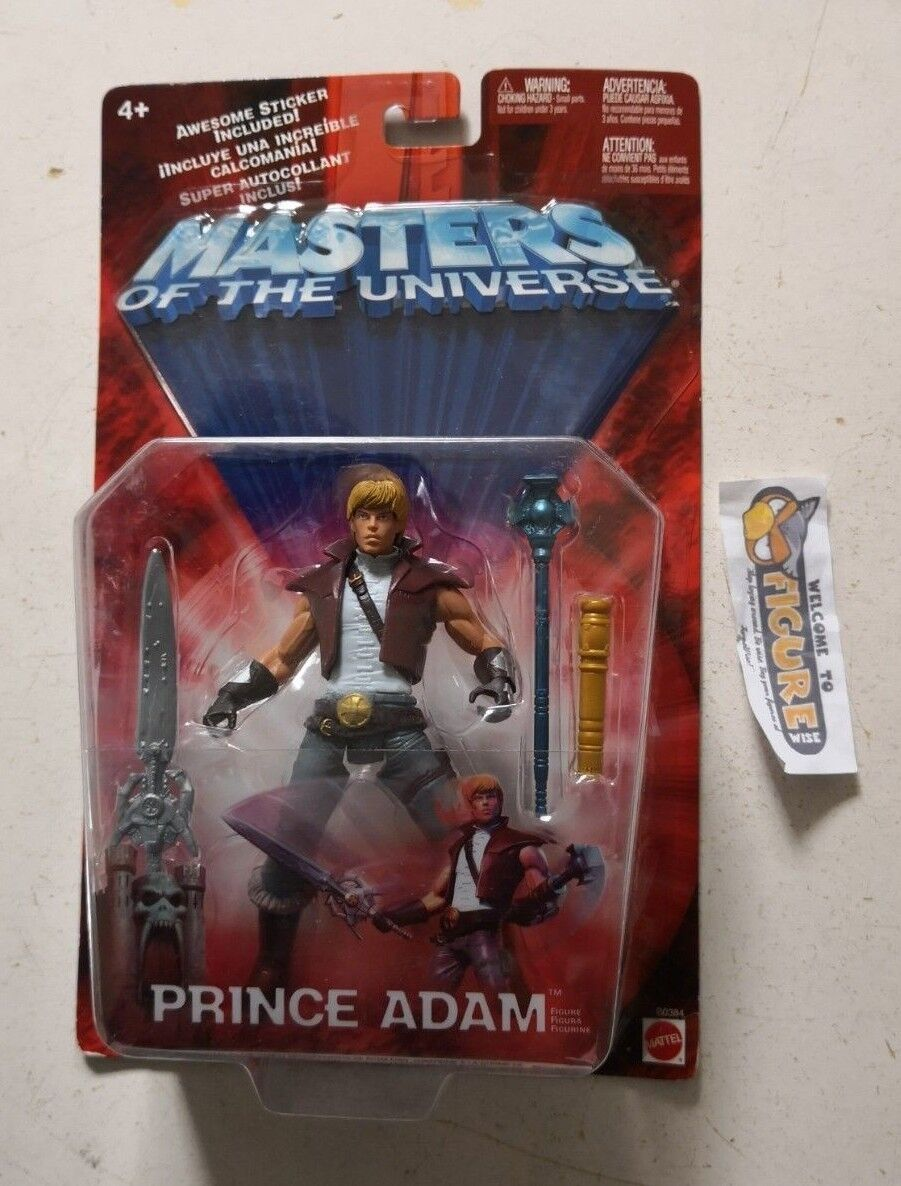 Masters Of The Universe, MOTU PRINCE ADAM action figure by Mattel