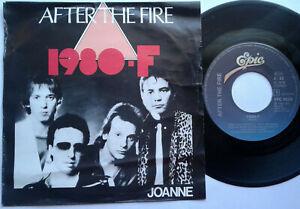 After-The-Fire-1980-F-Joanne-7-034-Single-Vinyl-1980