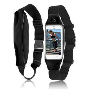 For Samsung Galaxy Note 8 Waterproof Sports Waist Belt Bag Case Fanny Pack Run