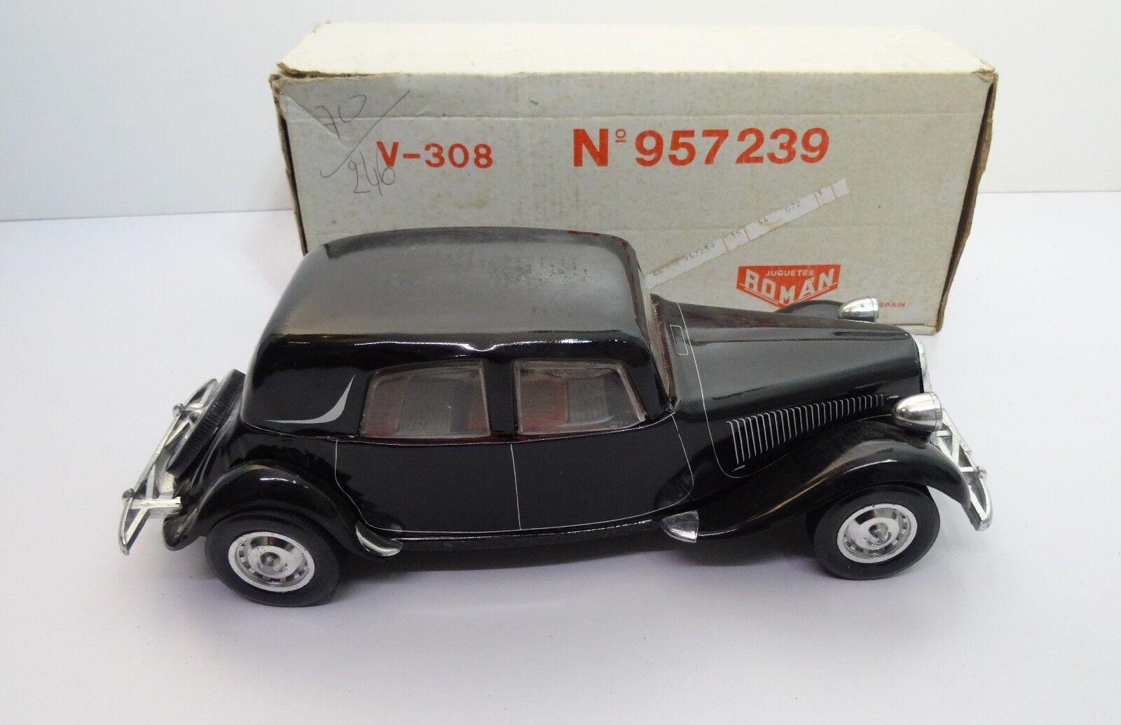 Juguettes Roman 1976 - Citroën Traction 11cv voiture miniature échelle 1 24