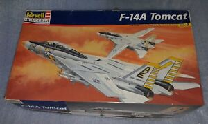 New-Old-Stock-Revell-Monogram-F-14A-TOMCAT-Model-Kit-Airplane-1-48-from-1998