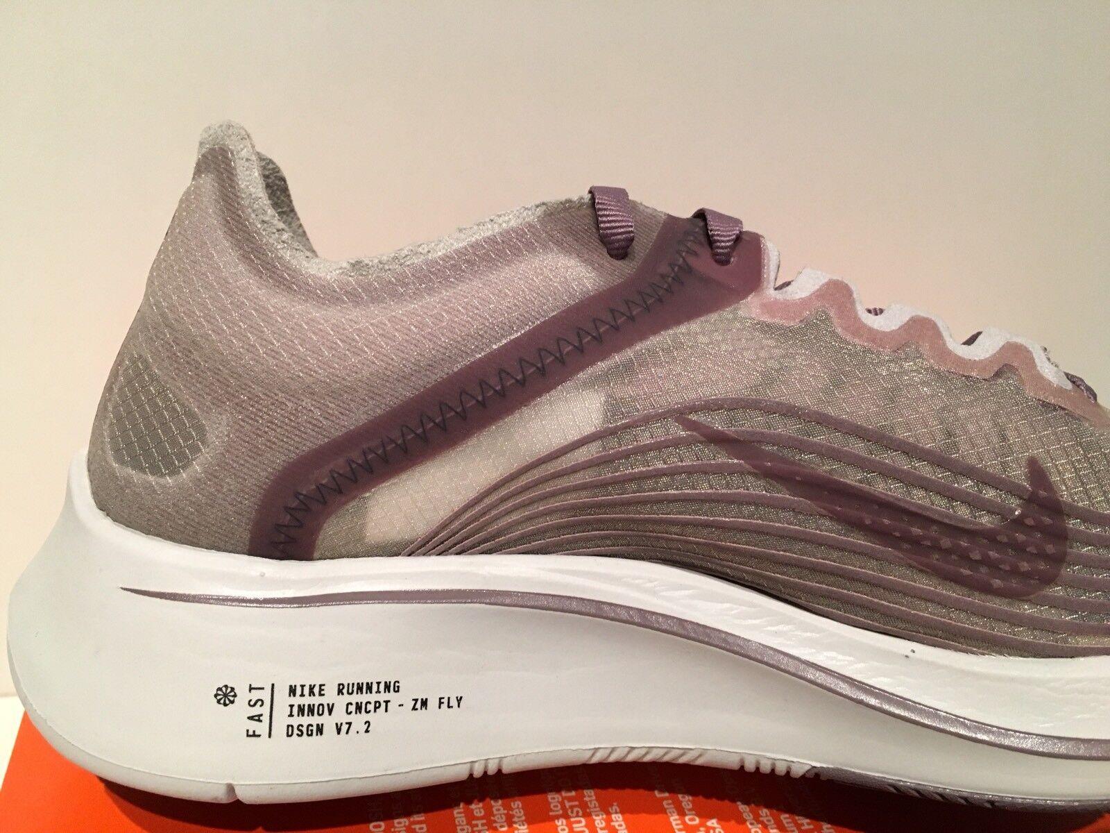 374fc7284ee8 ... Nike NikeLab Zoom Fly SP SP SP Chicago Marathon Taupe Grey Men s Size  5.5 AA3172 200 ...