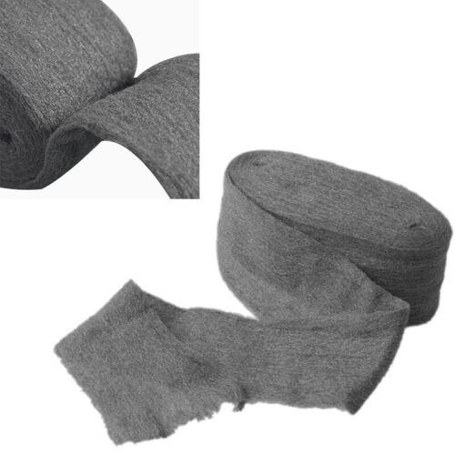 3,3m 0000 Klasse Stahl Stahlwolle Wrap zum Polieren Schleifen Remover