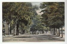[43255] Circa 1909 POSTCARD BROADWAY LOOKING SOUTH in NORWICH, CONNECTICUT