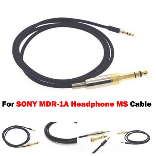 For SONY MDR-1A Headphone 1PC 3.5mm Jack Audio Cable Code Upgrade Accessories