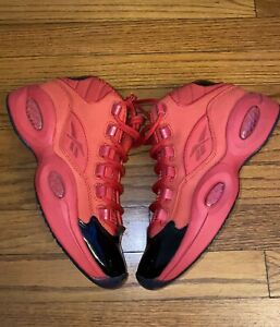 Reebok-Question-Mid-039-Heart-Over-Hype-039-Red-Black-FX4015-Size-6