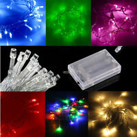 CLEARANCE SALE: Battery Powered Fairy String Lights 7ft 20 LED 2M: Static +Flash