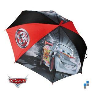 Disney-Cars-Lightning-Mc-Queen-Regenschirm-Kinder-Schirm-Sonnenschirm-Automatik