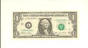 FEBRUARY 4, 2001 .. BIRTHDAY NOTE .. 2003* $1  L 0204 2001 * .... 02-04-2001