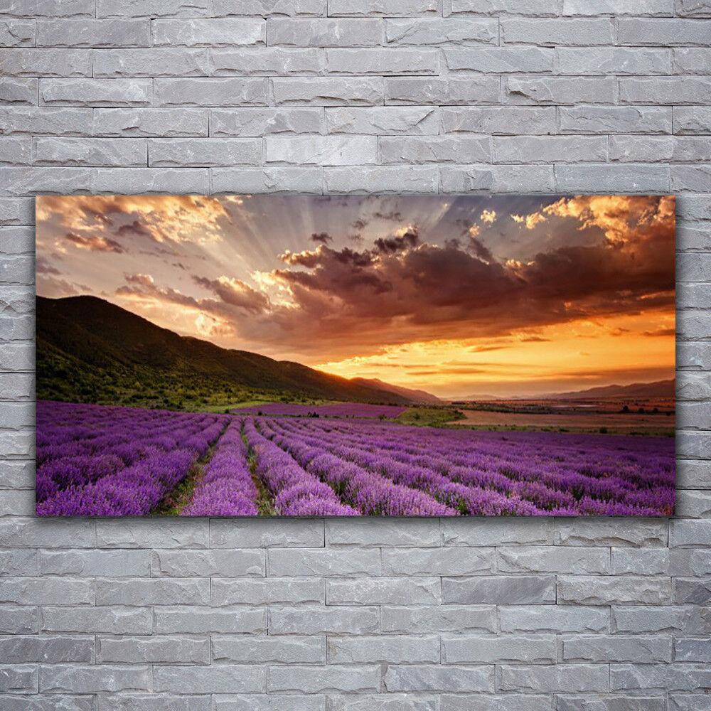 - Tela Immagini Immagine Parete Tela Stampa d'Arte 120x60 montagne Prato Fiore PAESAGGIO