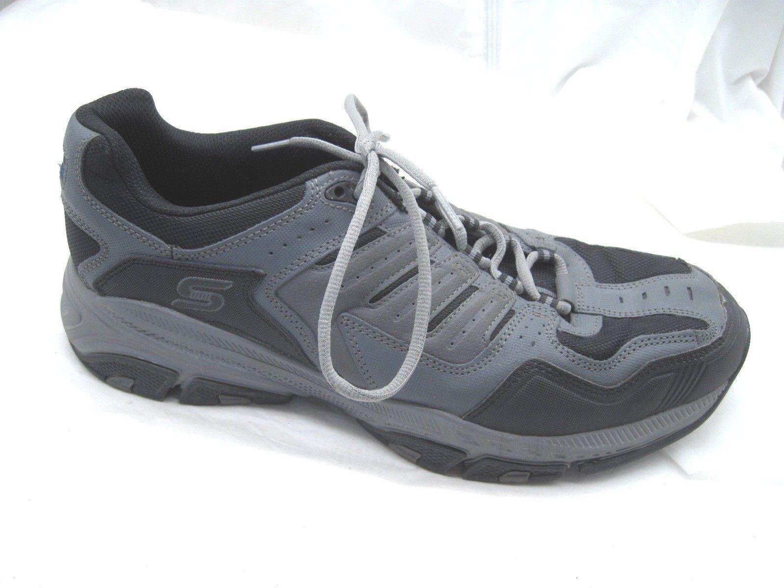 Skechers Cross Court TR charcoal black training mens tennis shoes sz 13M 51270