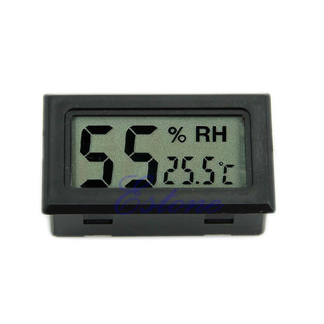 New Mini Digital LCD Temperature Humidity Meter Thermometer Hygrometer Indoor