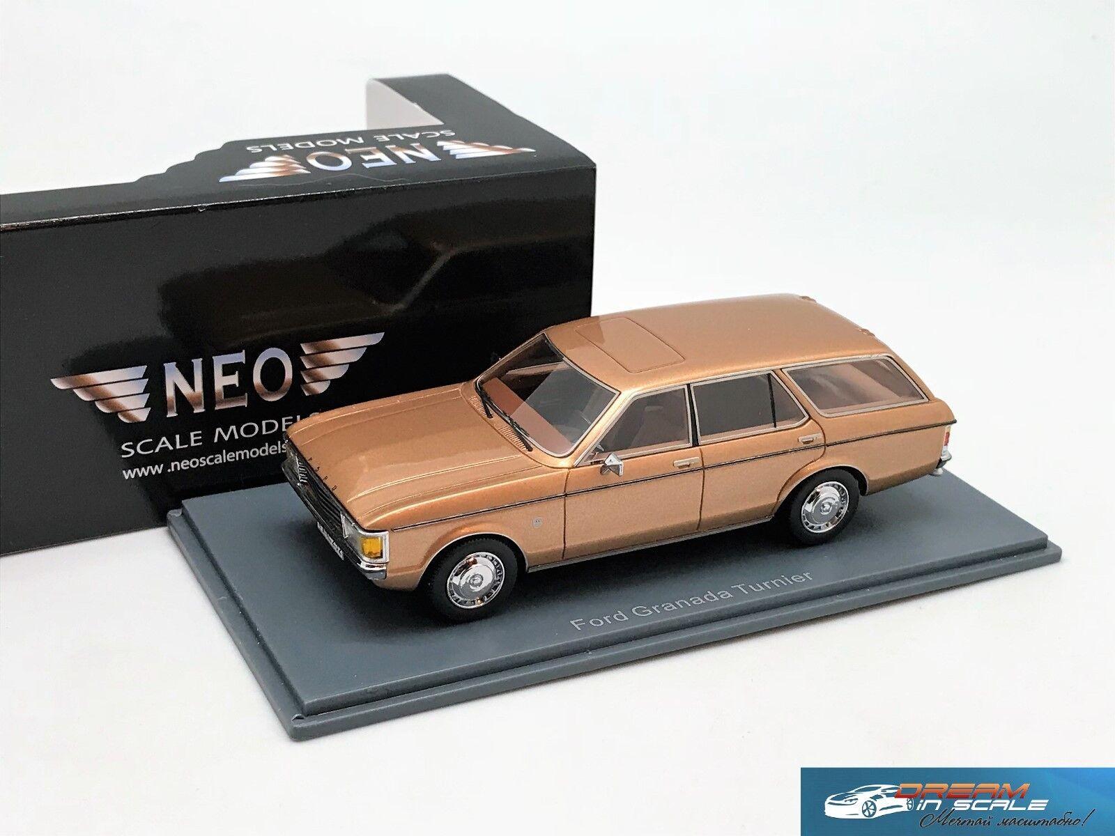 Ford Granada Turnier 1972 Gold NEO44252 1 43