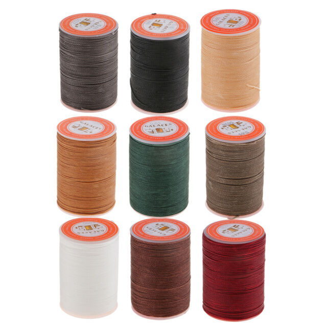 0.65 Round Waxed Thread Leather Hand Sewing Stiching CordLeather Craft