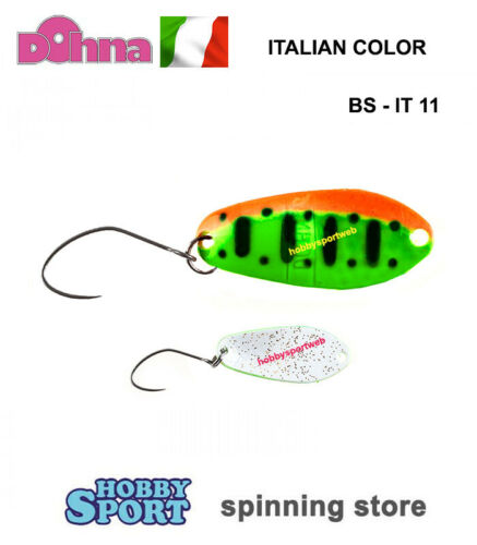 IT11 2.5 GR  IT-COLOR ONDULANTE JAPAN TROUT AREA SPIN ANTEM SPOON DOHNA BS COL