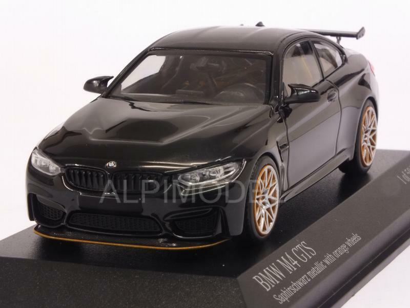 BMW M4 GTS 2016 nero Metallic 1 43 MINICHAMPS 410025222