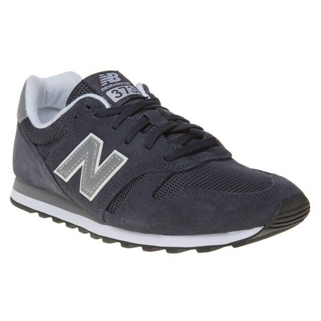 New MENS NEW BALANCE blueE 373 SUEDE Sneakers Retro